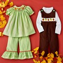 Bright Little Leaves: Fall Smocking