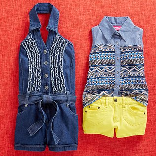 Denim Every Day: Kids' Apparel