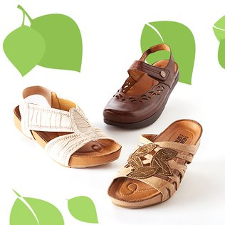 Earth Day: Women's Footwear