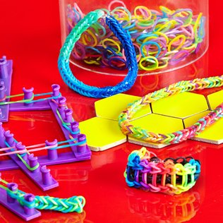 Loom Bands: Jewelry Crafts