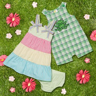 Sunshine Sweeties: Girls' Apparel