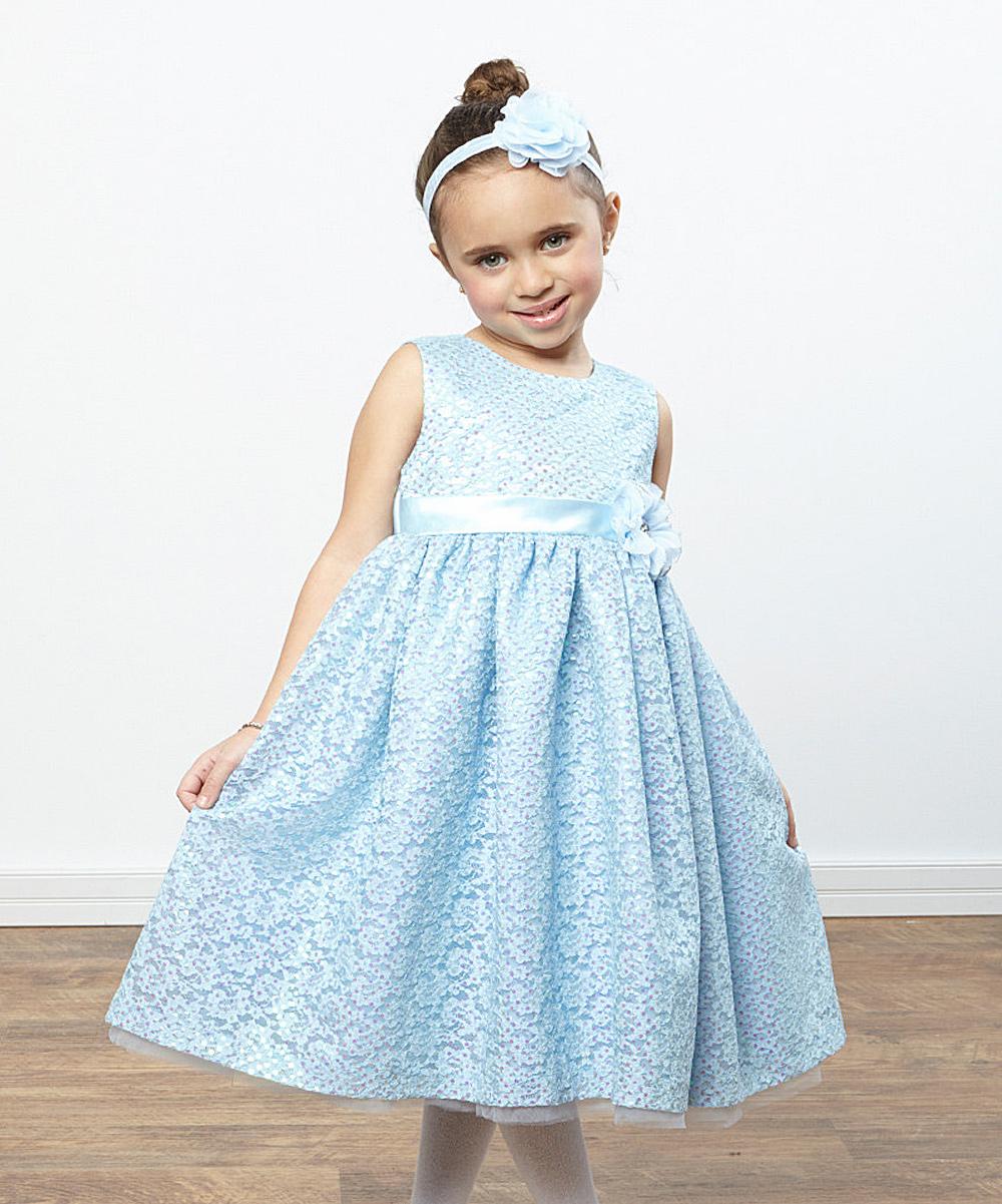 Baby blue toddler dresses - Best dress image