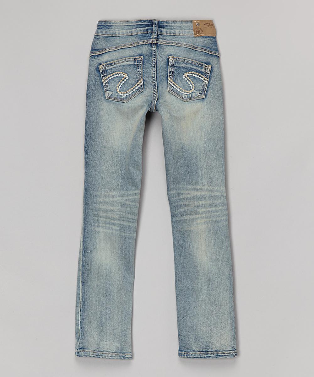Kids Silver Jeans - Jeans Am
