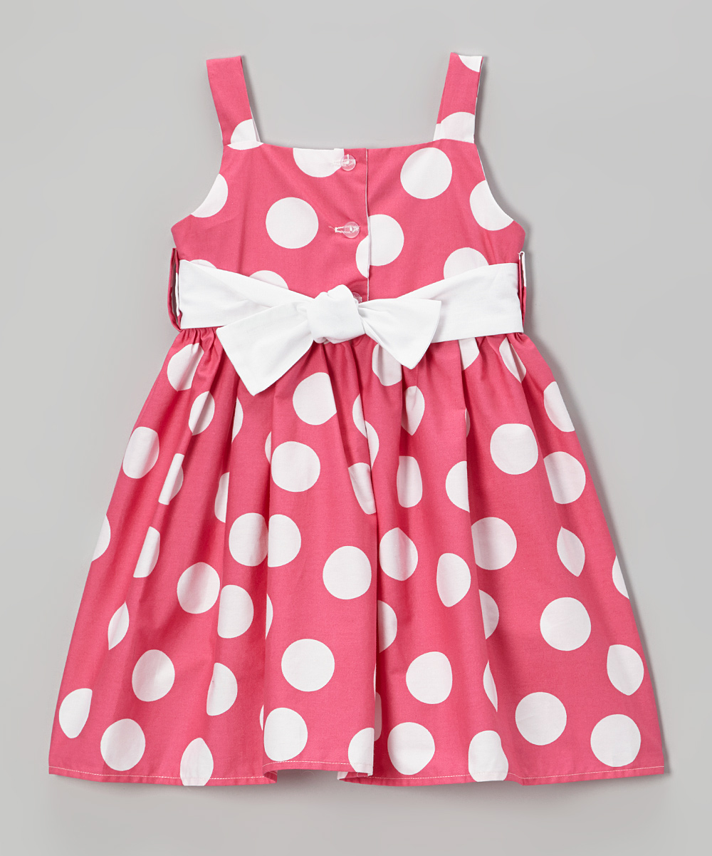 Hot Pink Toddler Dresses