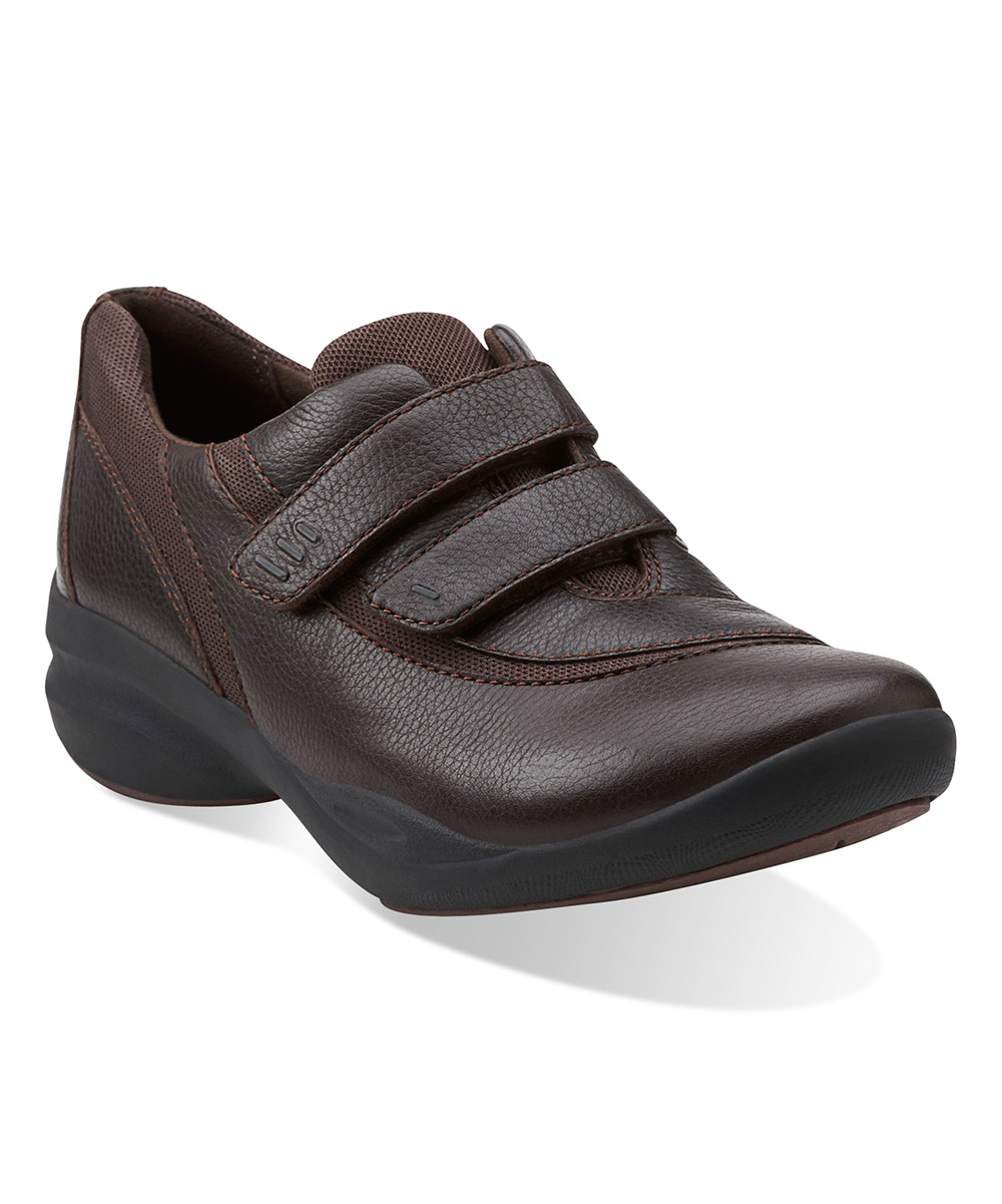 Clarks Brown InMotion Brim Leather Shoe | zulily