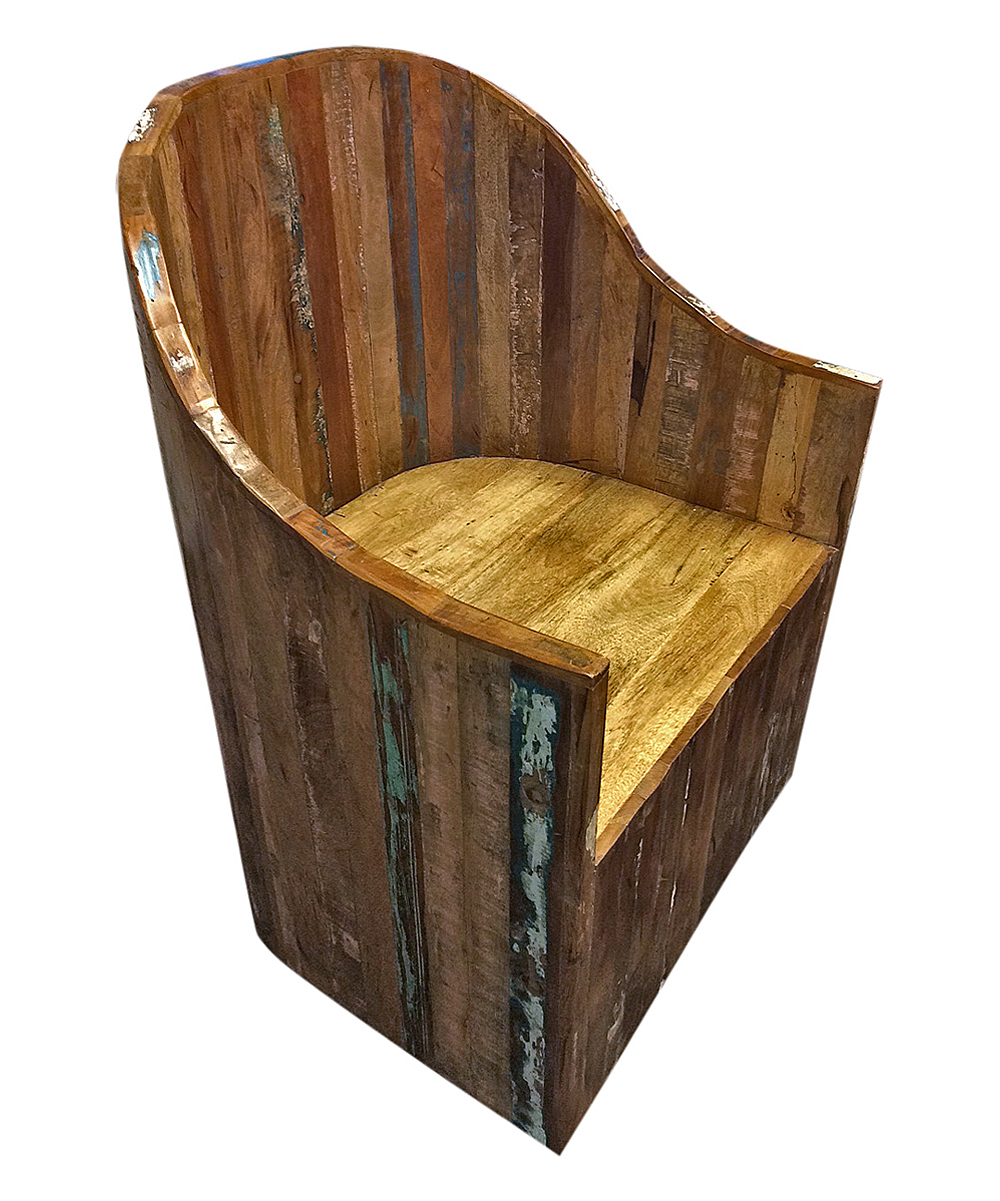 Smartworld Manufacturing Group Inc Reclaimed Wood Chair