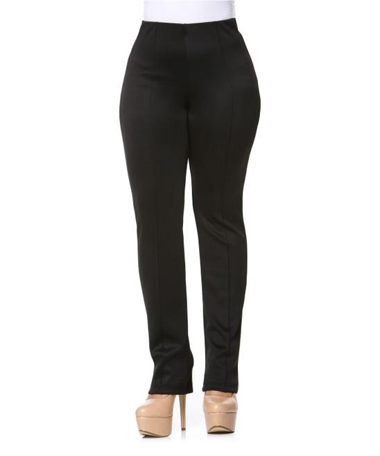 Elegant Black StraightLeg Pants