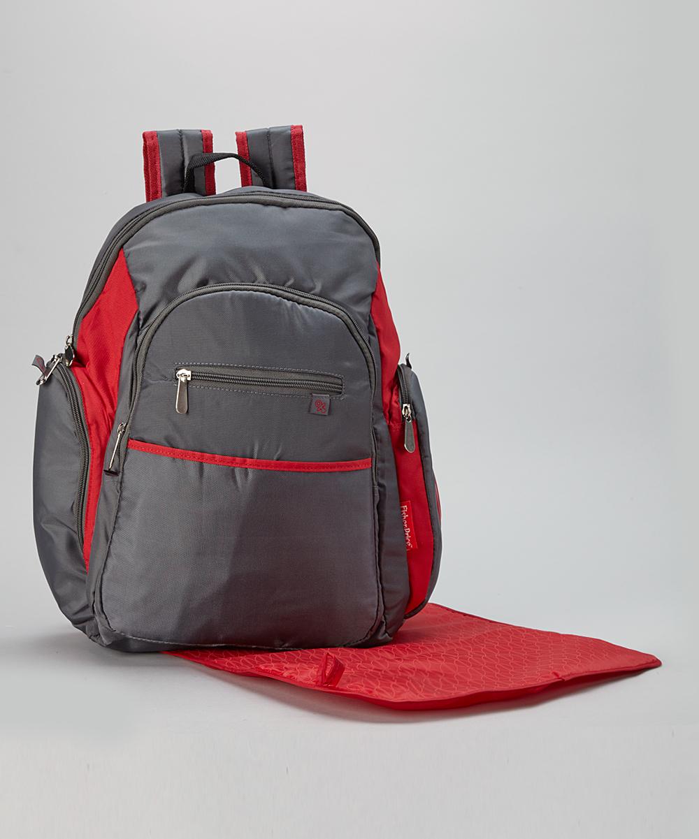 fisher price ripstop diaper bag backpack grey pink fisher price ripstop diaper bag backpack. Black Bedroom Furniture Sets. Home Design Ideas
