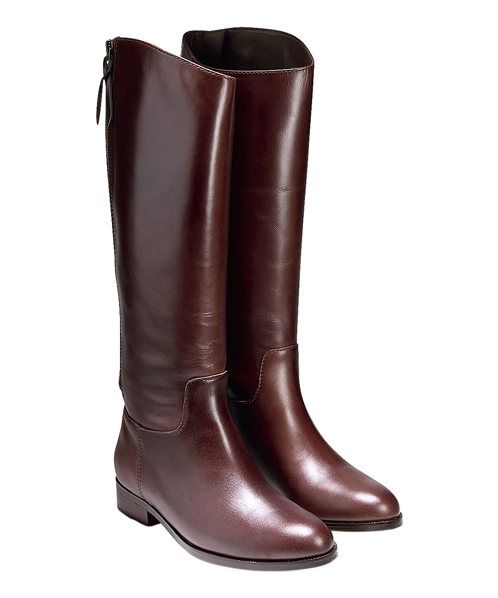 cole haan brown arlington leather boot zulily