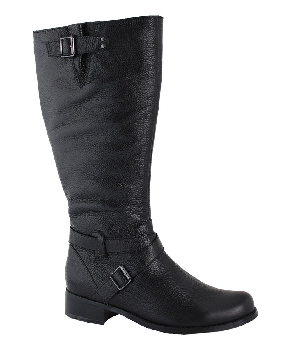 san jacinto boot company black santa wide calf