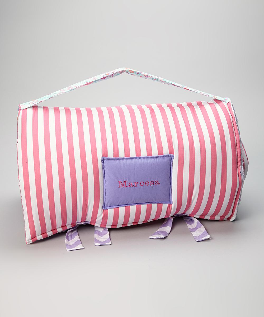 Janiebee Lavender & Pink Unicorn Princess Personalized Nap ...