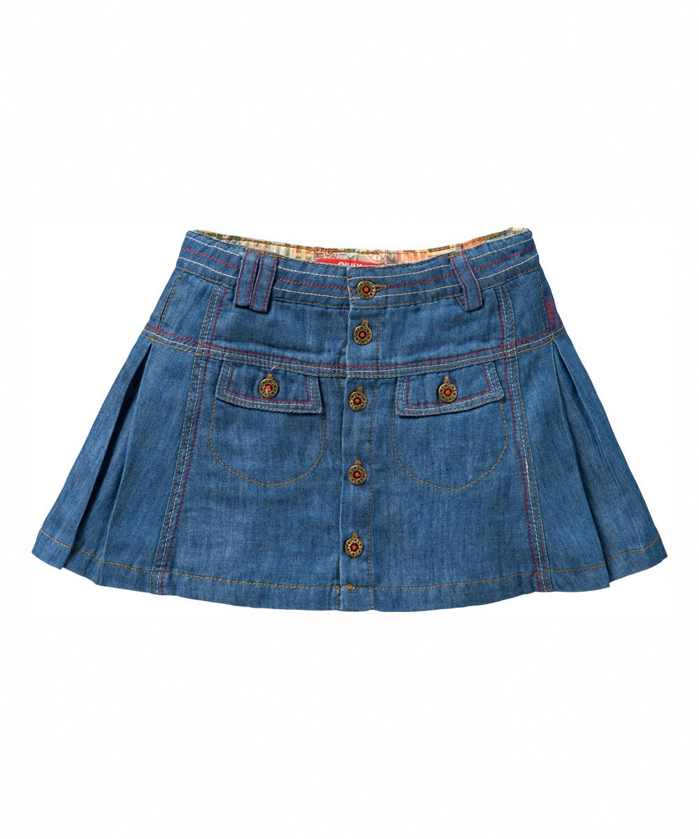 oilily blue semmy denim skirt toddler zulily