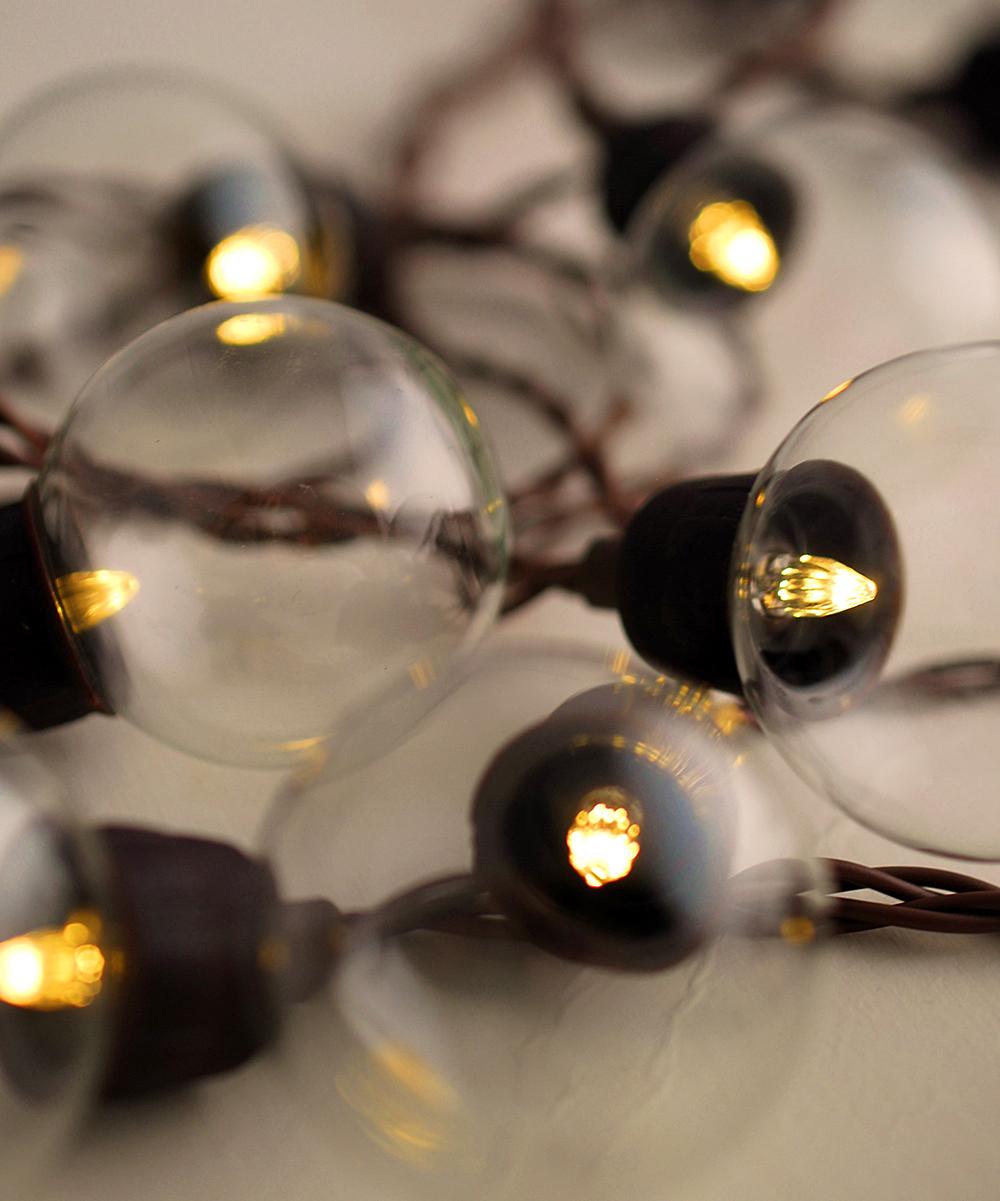 19 LED Solar Globe Lights zulily