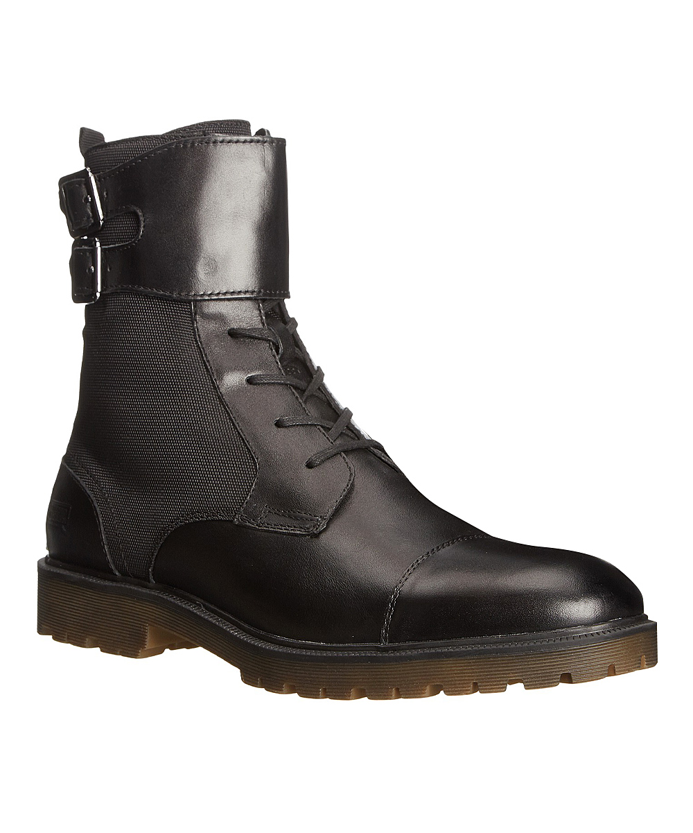 kenneth cole reaction black paratrooper leather boot zulily