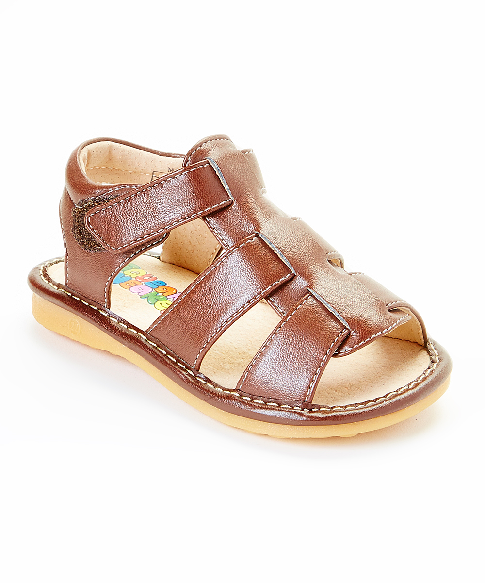 Fantastic Brown ClosedToe Sandal  Zulily