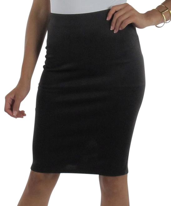 brown office pencil skirt zulily