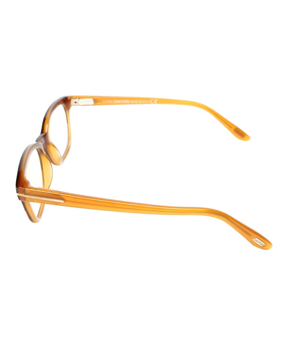 Glasses Gradient Frame : Tom Ford Brown Gradient Full-Frame Eyeglasses zulily