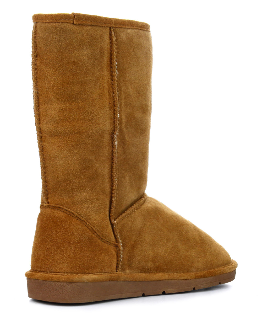 hickory faux shearling suede boot zulily