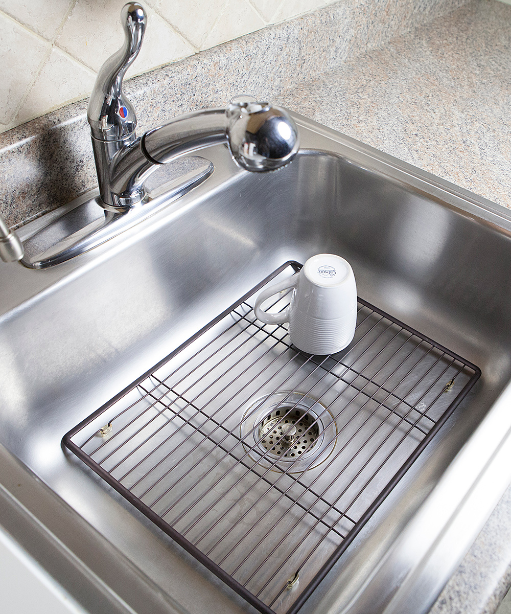 home basics Large Bronze Sink Protector zulily