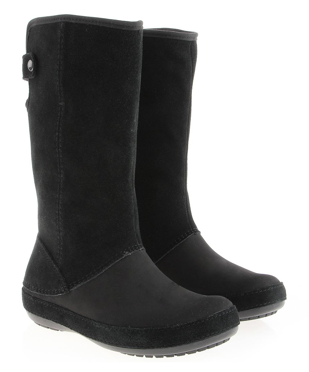 crocs black bessa boot zulily
