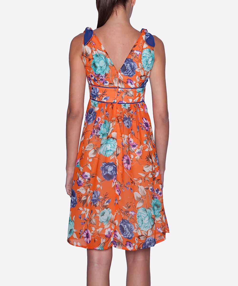 New Tatyana Pink Amp Blue Aurora Dress  Women Amp Plus  Zulily