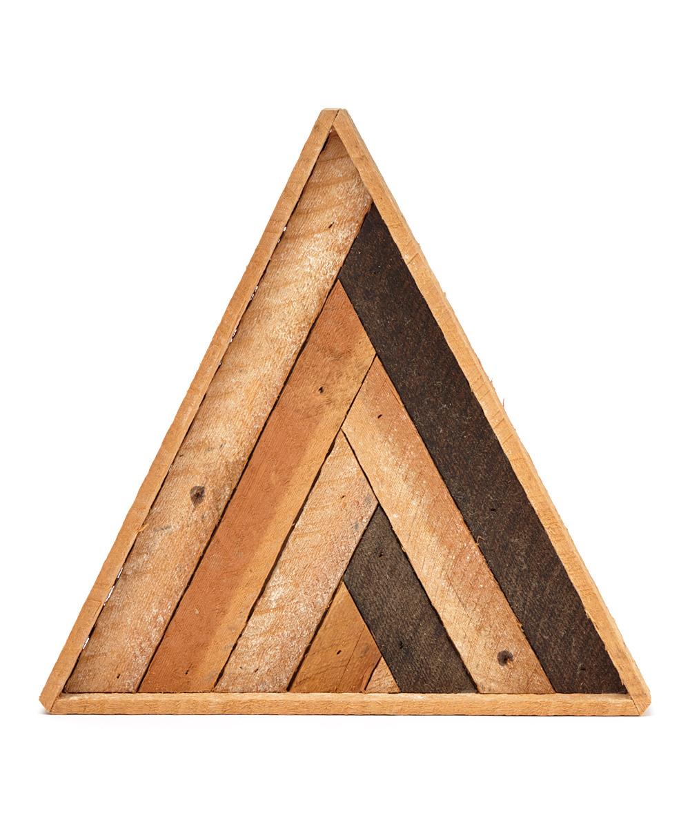 Chevron Wood Wall Decor : Nick terrel woodworking triangle chevron reclaimed wood