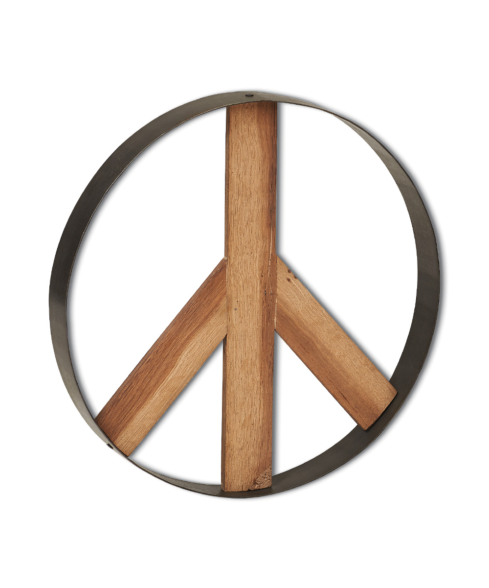 Foreside Peace Sign Wall Art Zulily