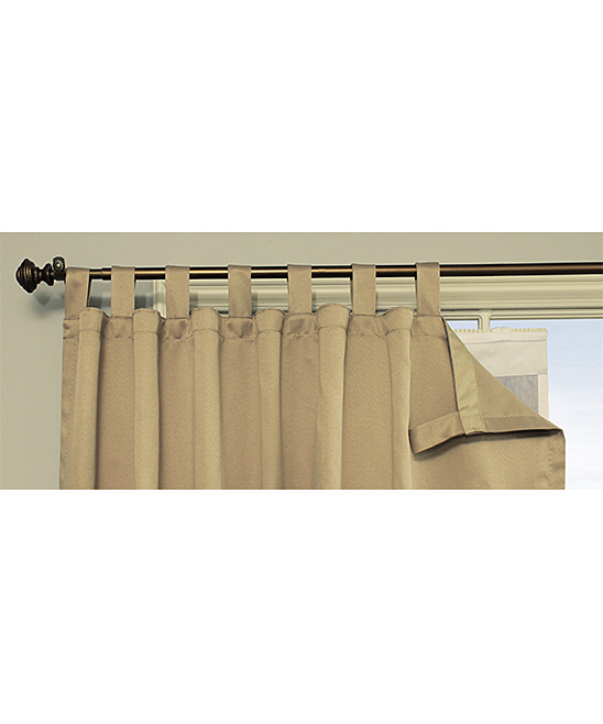 commonwealth home fashions white thermal blackout curtain