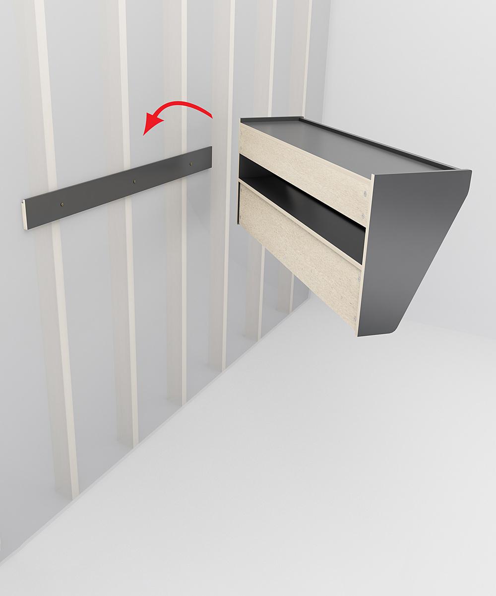 black doris entryway coat rack shelf zulily. Black Bedroom Furniture Sets. Home Design Ideas