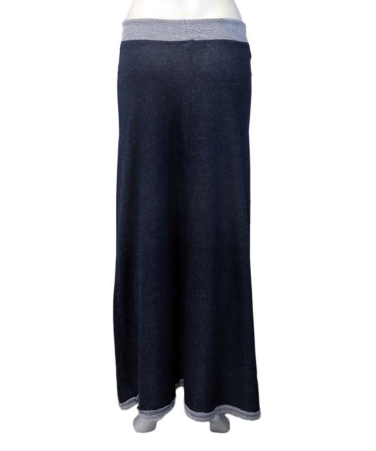 coin 1804 denim terry cargo maxi skirt zulily