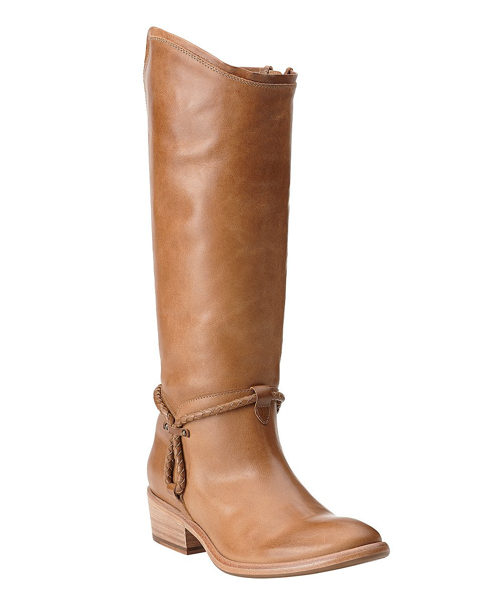 ariat caramel calgary leather boot zulily