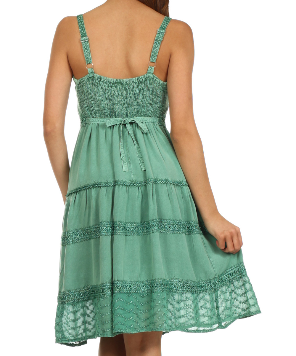 Luxury Raya Sun Copper Lurex Palm Dress  Women  Zulily