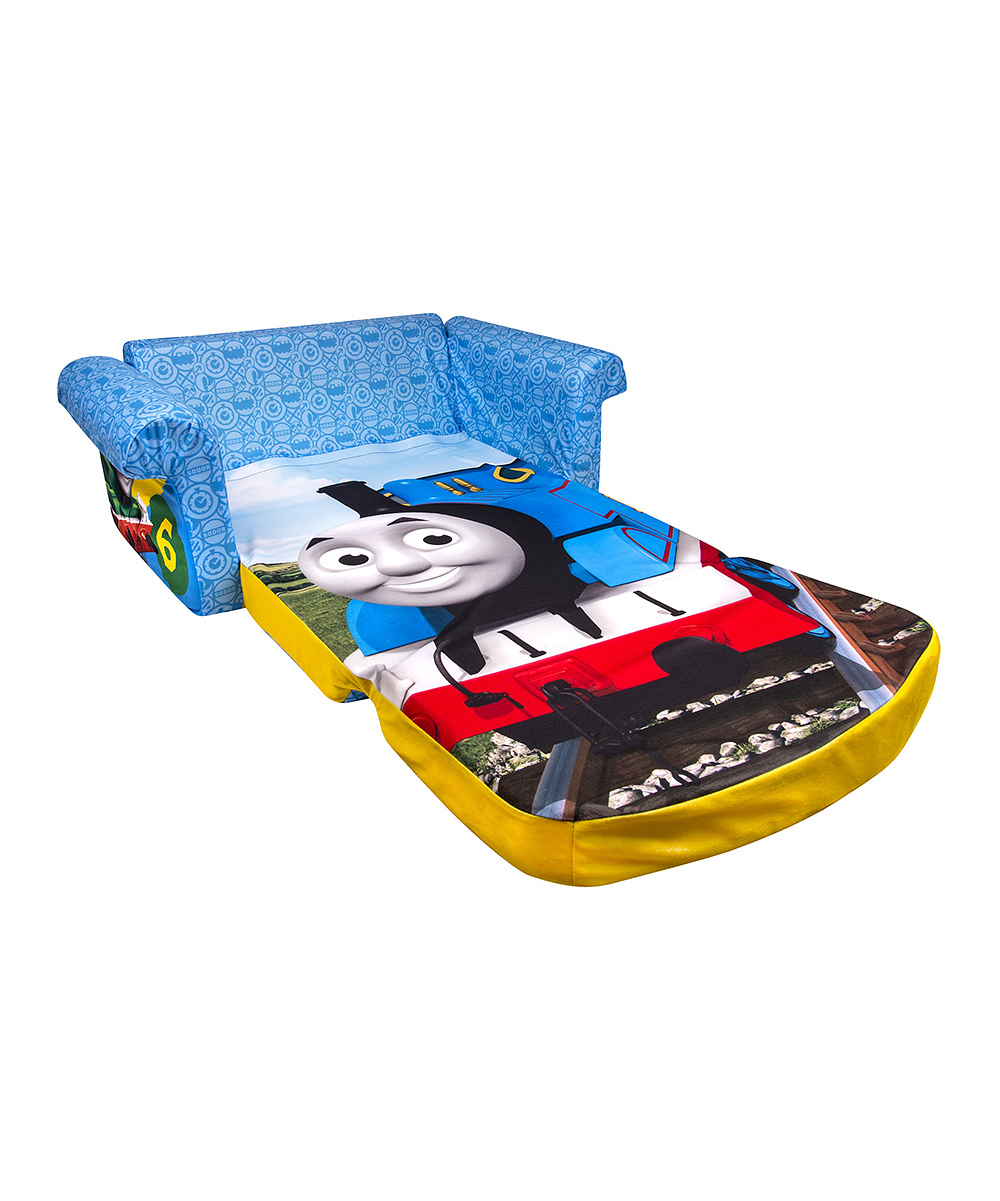 Thomas amp Friends Blue The Train Flip Open Sofa Zulily