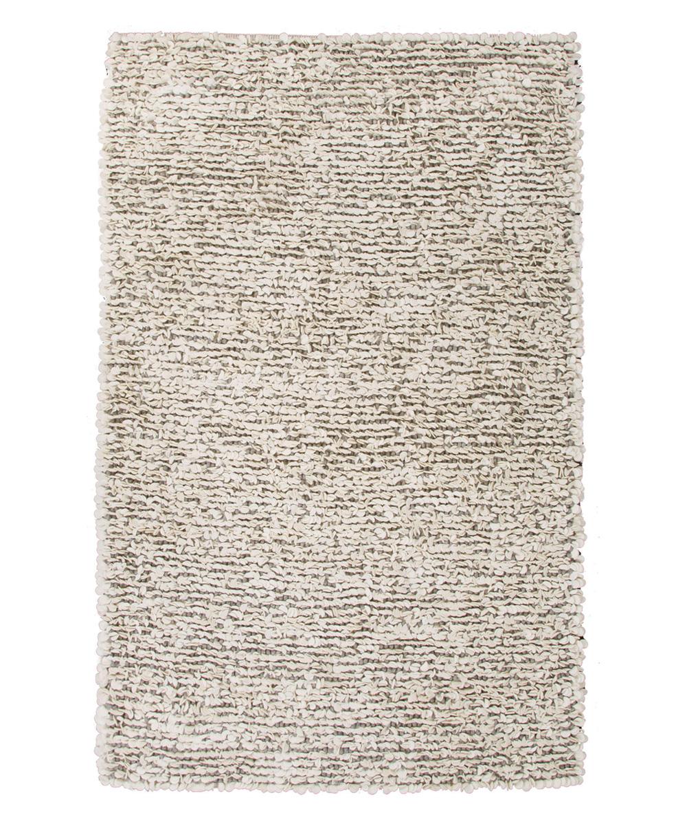 Jaipur Rugs Ivory Amp Gray Wool Shag Rug
