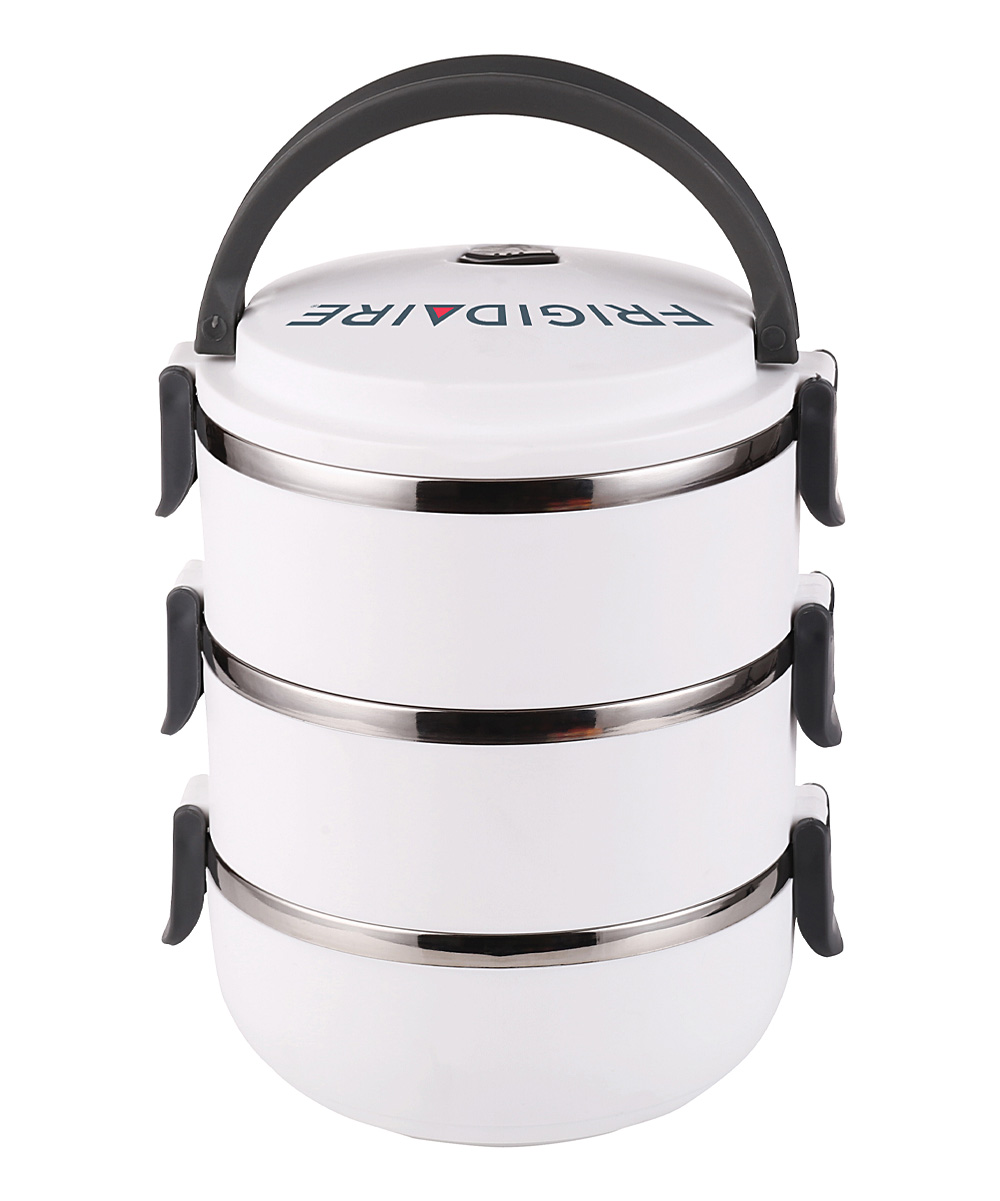 frigidaire three tier bento lunch carrier zulily. Black Bedroom Furniture Sets. Home Design Ideas