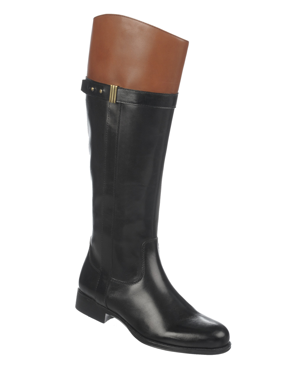 naturalizer black brown josette leather boot zulily