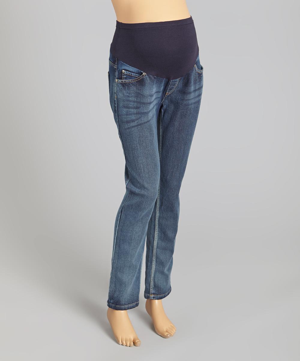 light wash over belly maternity skinny jeans. Black Bedroom Furniture Sets. Home Design Ideas
