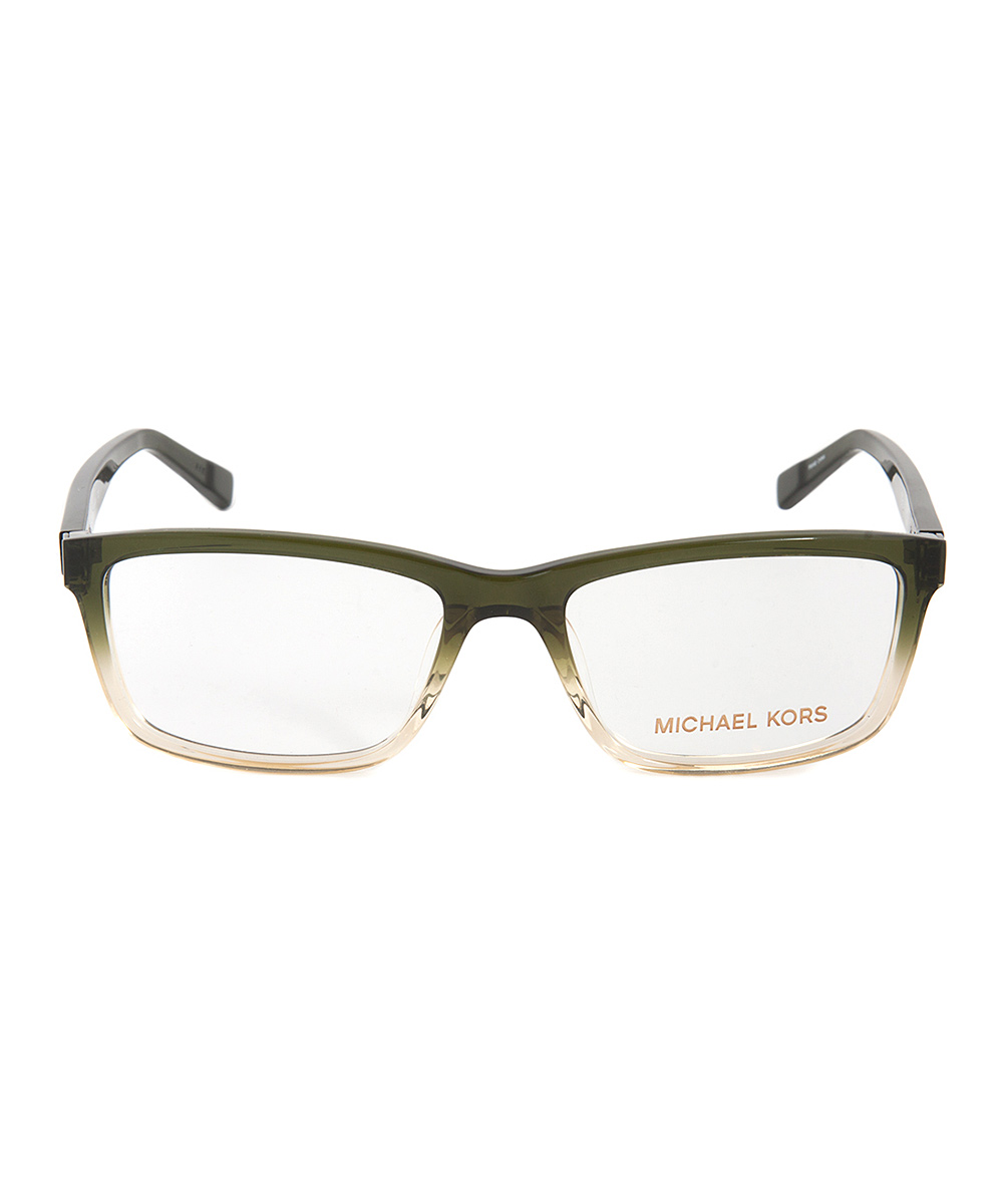 Michael Kors Forest Gradient Rectangle Eyeglasses zulily