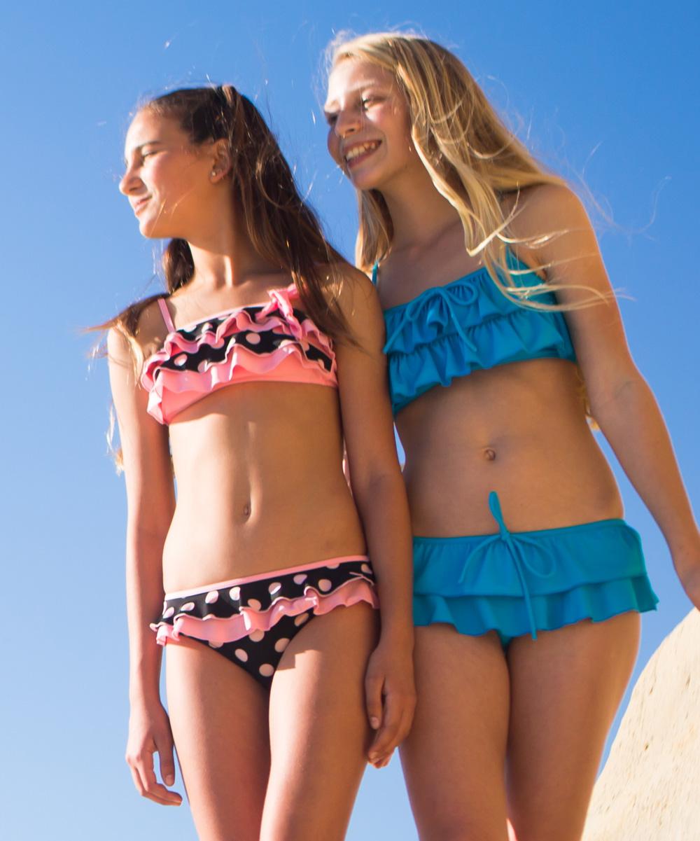 Brown Polka Dot Bikini 12