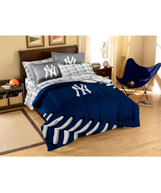 The Northwest Company New York Yankees Full Comforter Set Zulily