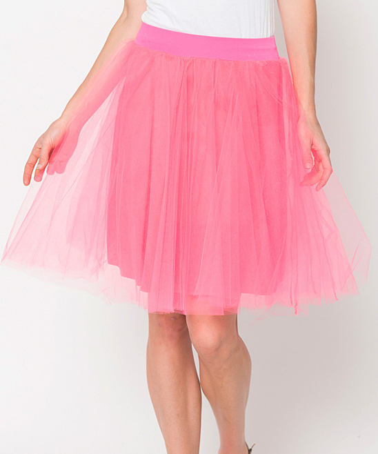 caralase pink tulle skirt zulily