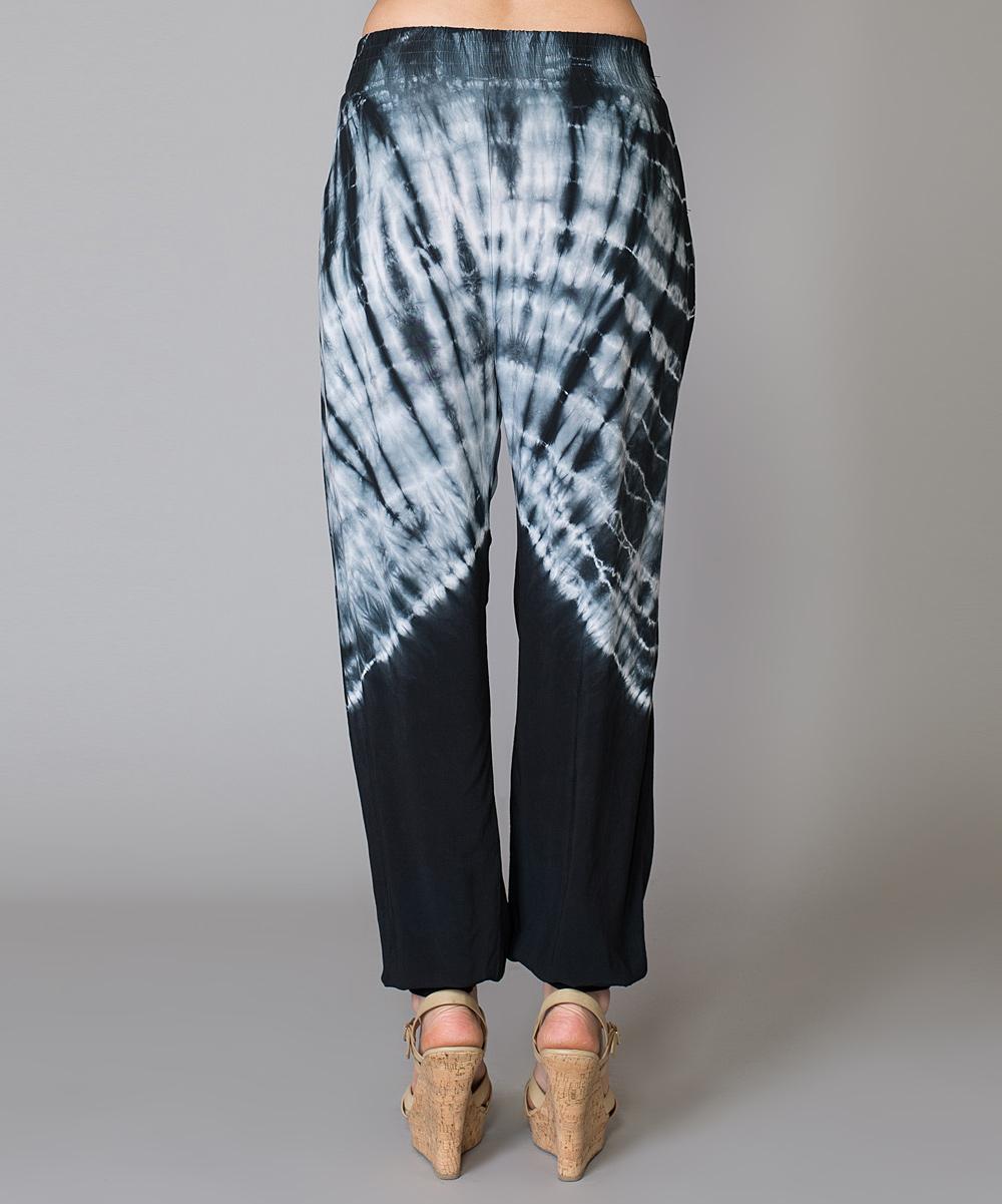 Wonderful Tibi Tiedetail Silk Pants In Black  Lyst