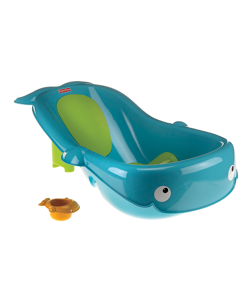 fisher price blue whale baby tub zulily. Black Bedroom Furniture Sets. Home Design Ideas