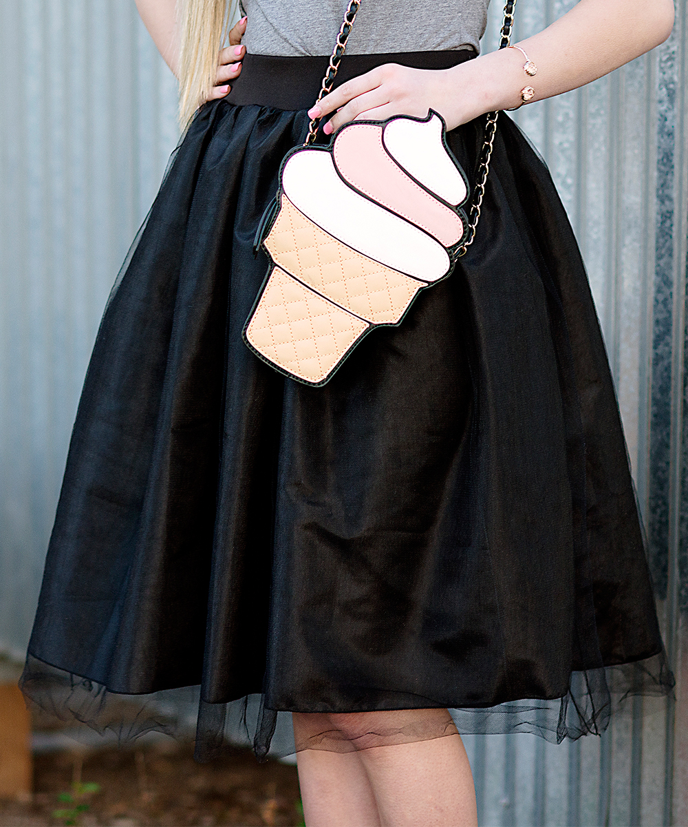cents of style black tulle a line skirt zulily