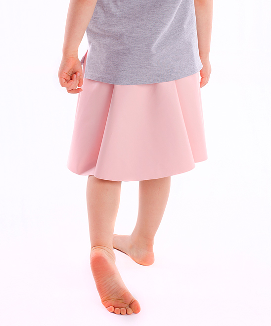 dodo faux leather circle skirt toddler zulily