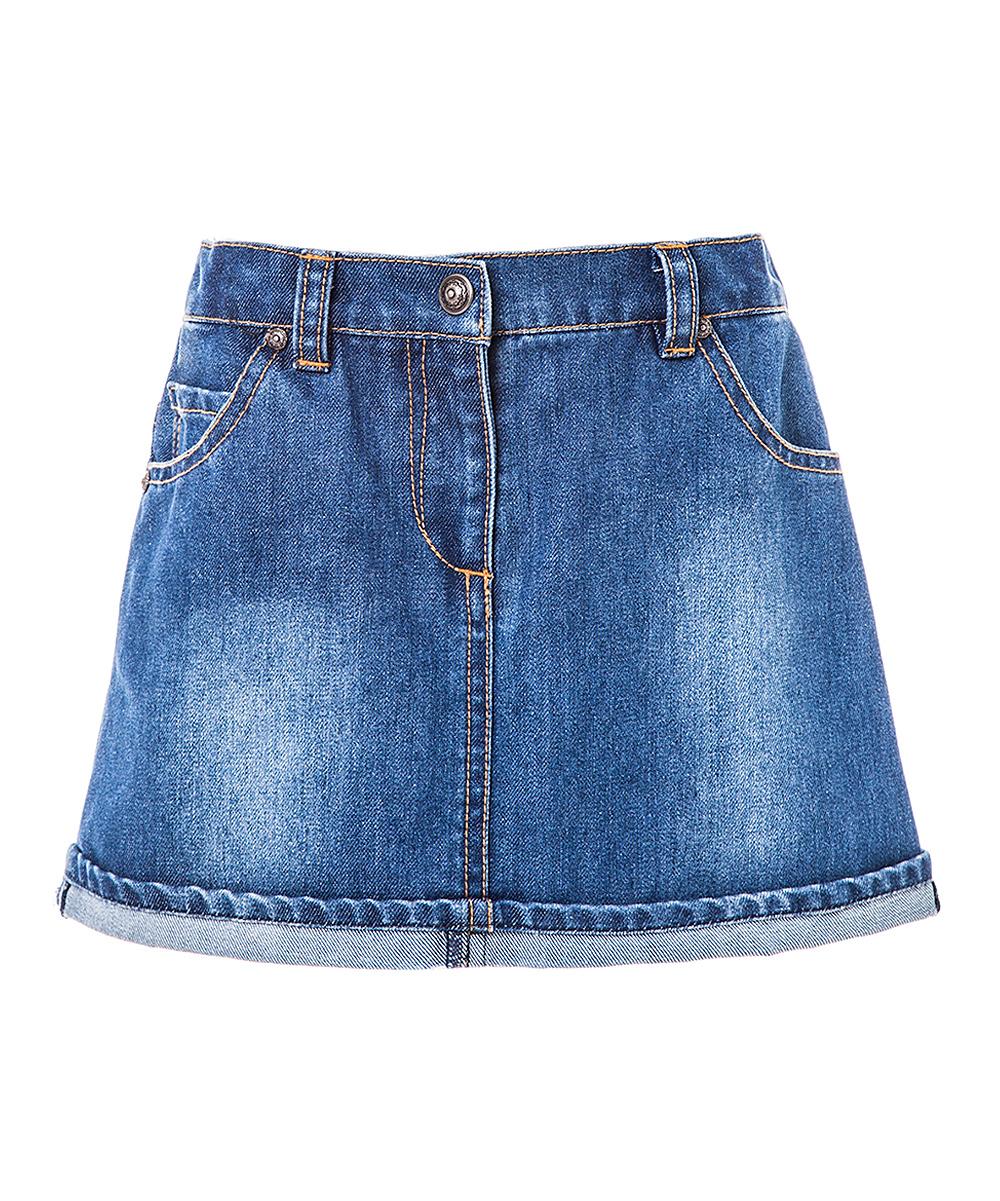 frankino frankina blue denim skirt toddler