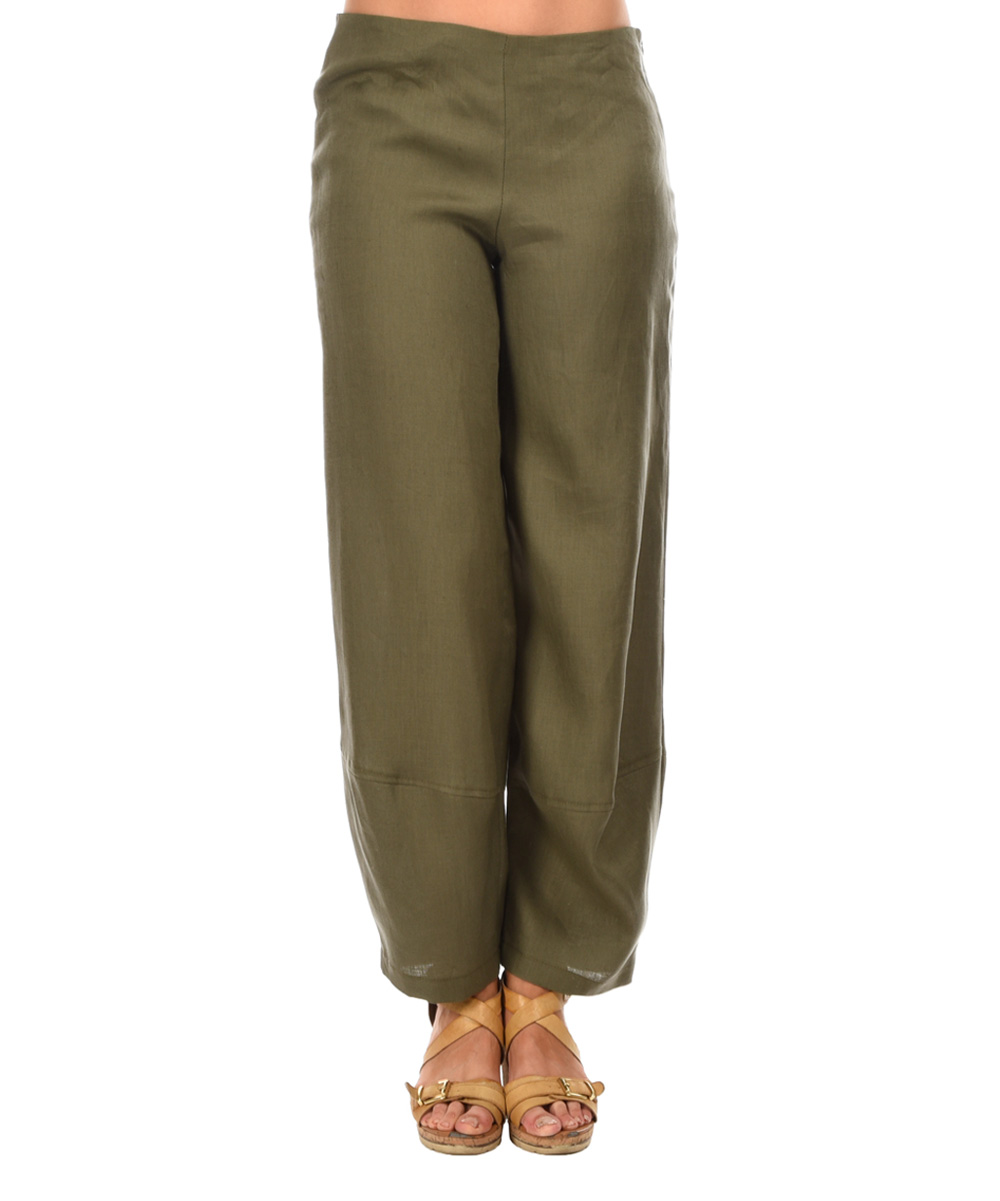 Lastest Stem Linen Pants In Beige Khaki  Lyst