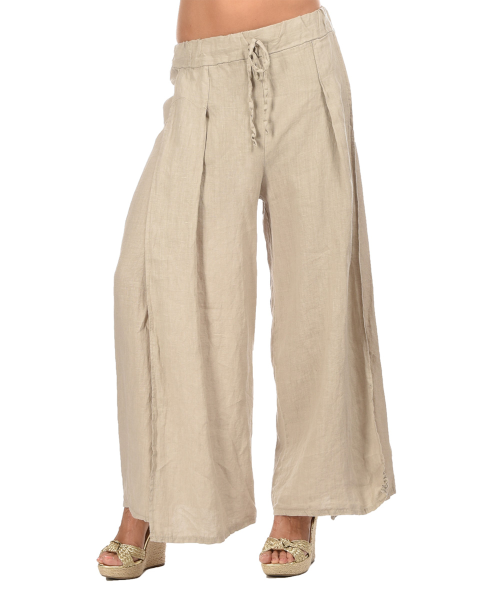 just beige sally linen zulily