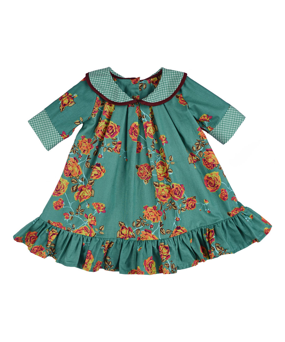 persnickety clothing turquoise isabelle dress infant