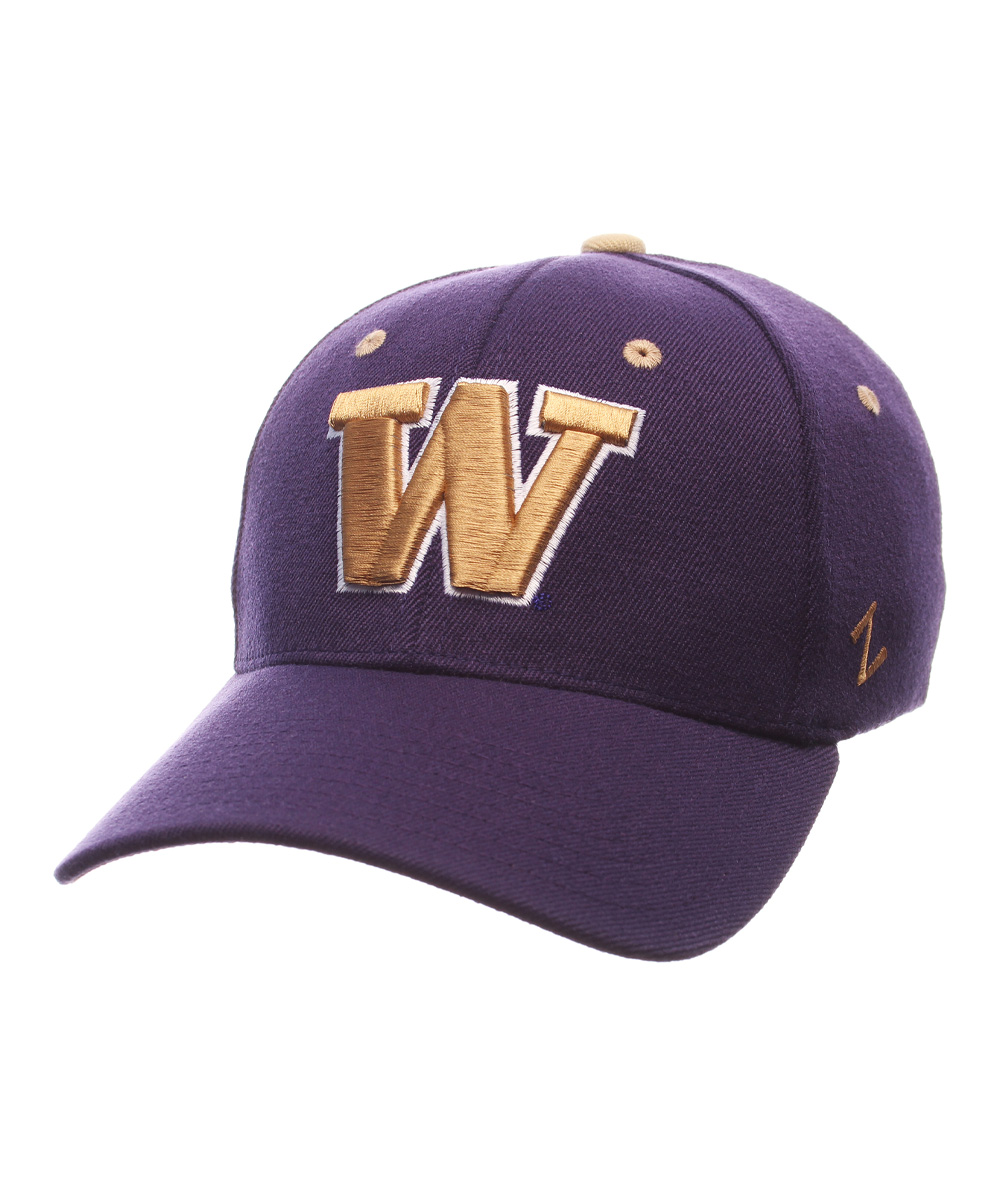 zephyr washington huskies baseball cap zulily